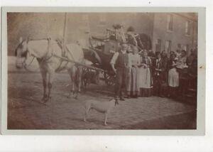 Moving House Oldham / Rochdale Circa 1905 RP Postcard Brierley 396b
