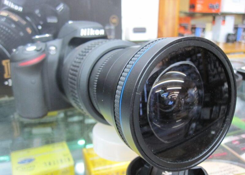 Ultra Wide Angle Fisheye lens for NIKON d5300 d5100 d3300 d3100 as 50/35mm nib