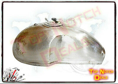 BENELLI MOJAVE CAFE RACER 260/360 FUEL/GAS TANK WITH LOCK AND BRASS TAP(PAIR)@US
