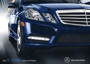 2012 mercedes benz e class 28 page sales brochure catalog for Mercedes benz e350 aftermarket parts