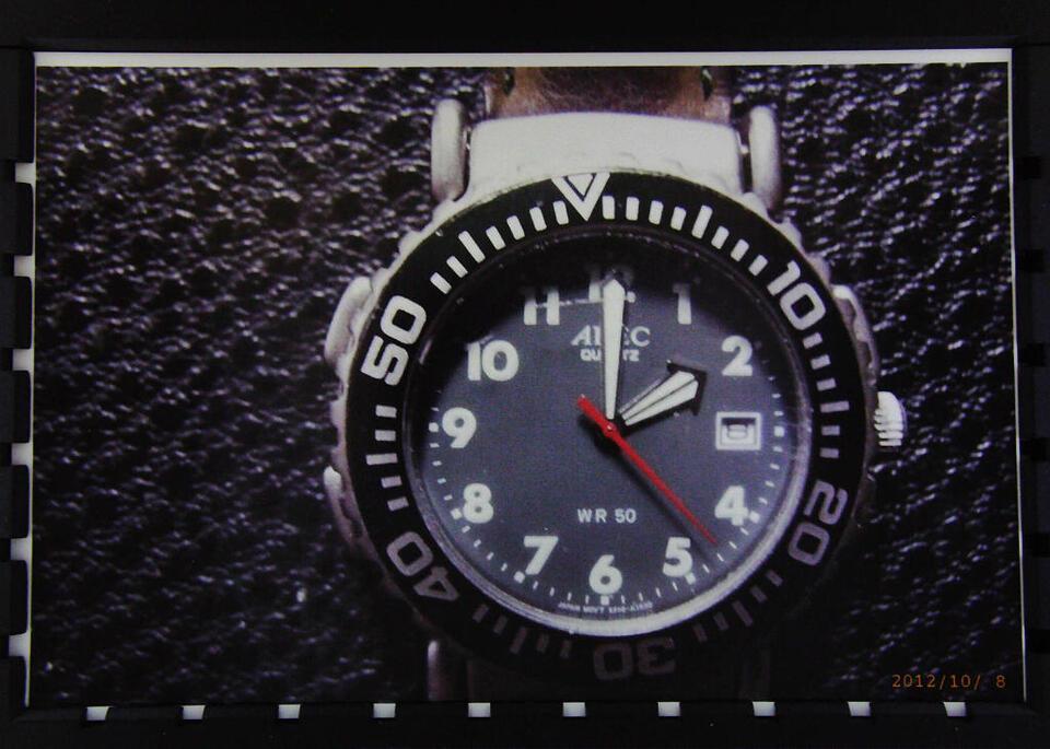 ADEC Herren-Armbanduhr mit Kompass und Lederarmband in Dortmund