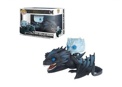 Funko POP! Rides Game of Thrones NIGHT KING & VISERION #58 Vinyl Figure