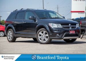 2012 Dodge Journey R/T, AWD, Leather, Sunroof, Trade In