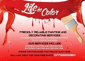 Life in Color painting and decorating services