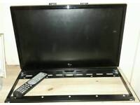 Bush 26inch flat screen tv with built in dvd player & wall bracket