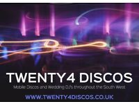 Twenty4 Discos - Mobile Discos and Wedding DJ Services