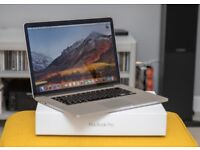Apple Macbook 15inch i7 late 2013 retina screen - excellent condition for sale.