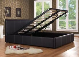 Double ottoman storage beds brand new £130