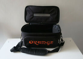 Orange Tiny Terror Head, Gig Bag!