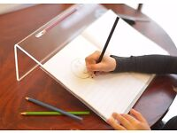 A Sloped Work Surface for Drawing, Reading, Art, and Speech for Optimal Learning, Portable Desktop