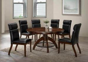 "54"" Round Dining Set with 6 Chairs (ME219)"