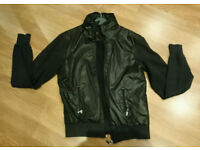 River Island Different Class Men's Black Bomber Jacket Size X Small