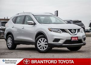 2016 Nissan Rogue S, AWD, Carproof Clean, Balance of Factory War