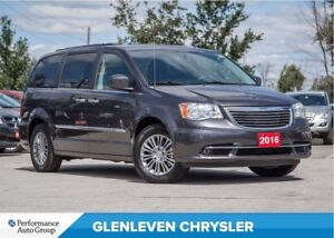 2016 Chrysler Town & Country Touring-L | DVD | SUNROOF | NAV | B