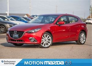 2015 Mazda MAZDA3 SPORT GT Leather Roof Navigation