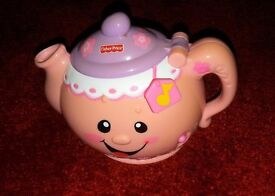 Fisher Price Laugh and Learn Pink Tea Pot