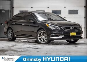 2017 Hyundai Sonata 2.0T Ultimate (Black Piping)