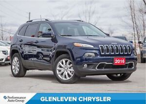 2016 Jeep Cherokee Pending Sold...Limited | 4X4 | V6 | NAV | PAN