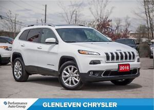 2016 Jeep Cherokee Limited | V6 | PANO ROOF | NAV | BU CAMERA