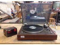 Vintage JVC JL-A1 Turntable, New belt, Headshell, Cartridge and Stylus