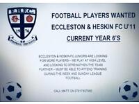 Year 6 Football Players Wanted
