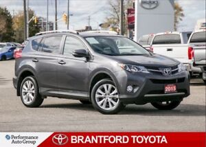 2015 Toyota RAV4 Limited, AWD, Navi, Local Trade, One Owner