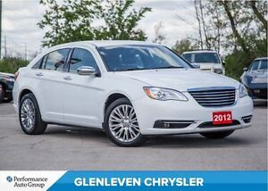 2012 Chrysler 200 Limited | V6 | ROOF | LEATHER | BLUETOOTH