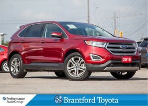 2015 Ford Edge Titanium, AWD, Navigation, Local Trade In