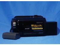 Sony HDR-XR 105E High Definition Handycam Camcorder £120