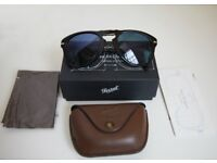 Persol Steve Mcqeen Polarized Sunglasses Black/Blue 54mm Limited Edition