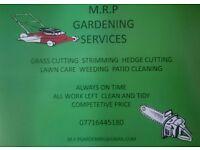 M.R.P GARDENING SERVICES