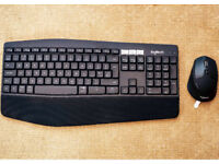 Logitech MK850 keyboard and mouse combo