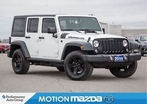 2016 Jeep WRANGLER UNLIMITED 2 Tops Over $9K Options!
