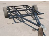 Motorbike or Quad trailer, 195cm x 150cm, heavy duty, £395 ono