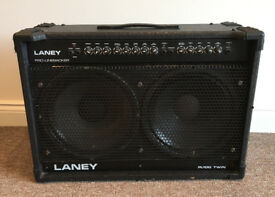 LANEY PL100 STEREO 2x12 COMBO 100w VINTAGE SOLID STATE AMP EARLY 90s