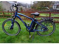 2015 Used Freego Electric Crossbar Eagle Bike 16ah battery up to 65 mile range