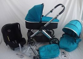 BabyStyle Oyster 2 - Teal Full Travel System