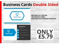 Print Your Business card (double sided) and get international print quality&services