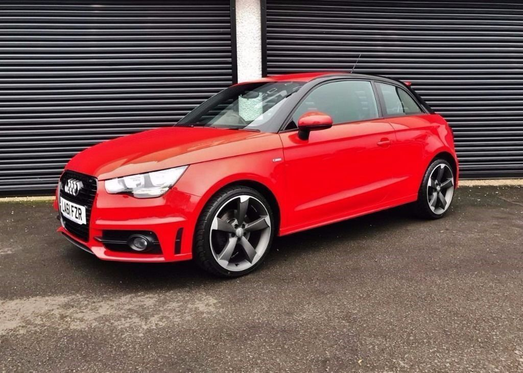2011 audi a1 1 6 tdi 105 s line black edition style 3 door finance available in cullybackey. Black Bedroom Furniture Sets. Home Design Ideas