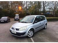 **2005 55 Reg Renault Grand Scenic Authentique 1.6 7 SEATER Long MOT S/History 100% TOP Runner**