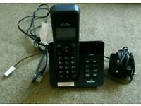 Wireless Telephone With Answering Machine
