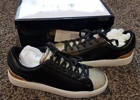 a66341b7e7 NEW Women s Ninewest Sz UK 5.5 EU 7.5 Lace up Designer Trainers Sneakers  RRP £