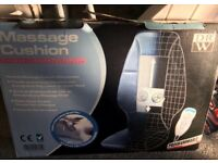 Vibrating/massage cushion