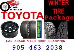 Toyota Winter Tires & wheel Package at car kraze 905 463 2038