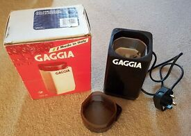 Gaggia Electric Blade Coffee / Spice Grinder In Great Condition