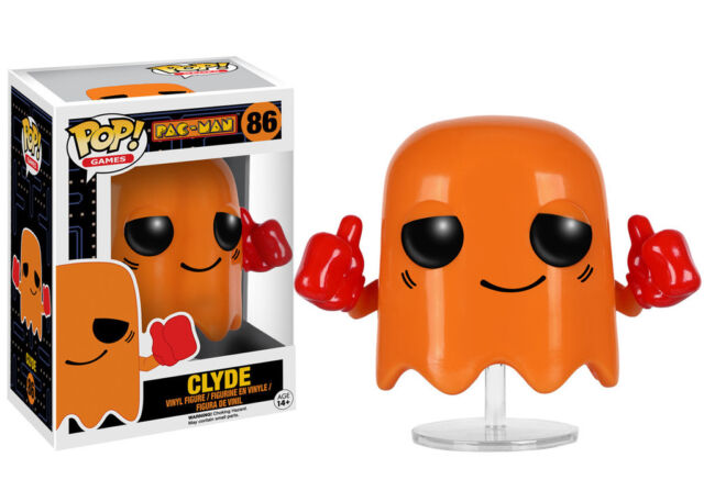 Clyde Pac-Man Pop! Vinyl Figure #86 PacMan