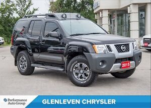 2015 Nissan Xterra PRO-4X | LEATHER | NAV | BU CAMERA | BLUETOOT