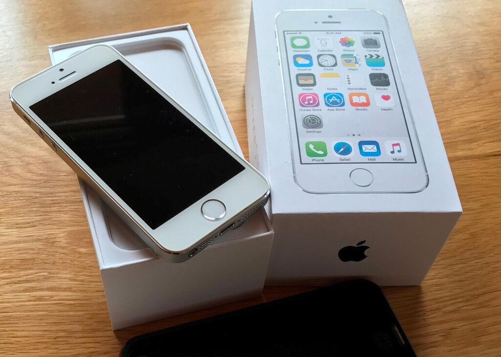 detailed look b2df2 456da iPhone 5s 16GB Silver with ROCK Royce Ultra slim Hybrid Shockproof Case  Cover Bumper | in Livingston, West Lothian | Gumtree