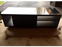 NEXT Milano black gloss TV unit