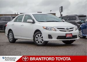 2011 Toyota Corolla Single Owner, Local Trade Safety and Etested